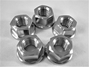 "3/8""-16 Hex Flange Nut Multi-Pack (5 Pcs.)"