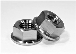 M10-1.5 Pitch Hex Flange Nut