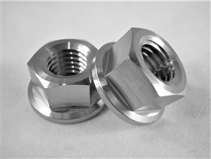 M12-1.75 Pitch Hex Flange Nut