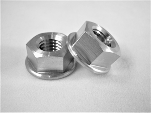 M8-1.25 Pitch Hex Flange Nut
