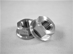 "5/16""-24 Fine Thread Hex Flange Nut"