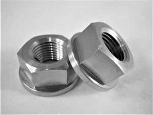 "1/2""-20 Fine Thread Hex Flange Nut"