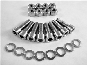 "All Ti 1"" Inboard Brake Rotor Kit (8 socket head bolts)"