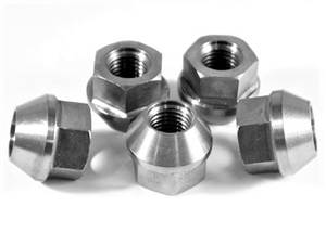 M12-1.5 Flanged Lug Nut 5-pack