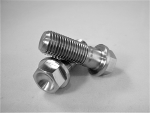 "3/8""-24 x 1"" Ultra-Light Hex-Flange Bolt"