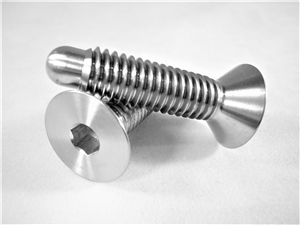 "3/8""-16 x 1-1/4"" Countersunk Wheel Stud"