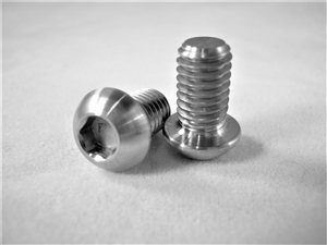 M6-1 x 10mm Button-Head Socket Screw