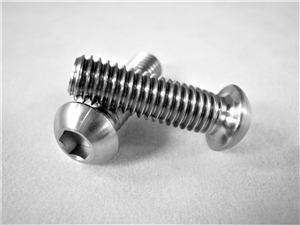 M6-1 x 20mm Button-Head Socket Screw