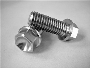 M10-1.5 x 25mm Ultra-Light Hex-Flange Bolt