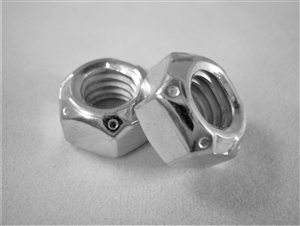 "5/16""-18 All-Metal Lock Nut, Steel"