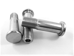 "Torque Ball Button Head Stud, 3/8""-24 x 1.375"""