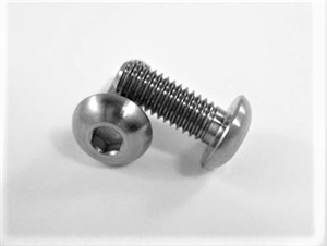 "#10-32 x 1/2"" Button Head Socket Screw"
