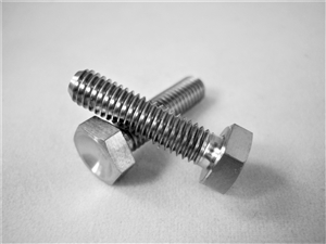 "#10-32 X 3/4"" Hex Head Bolt"