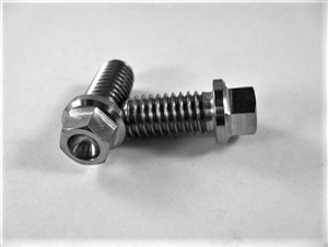 "Header Bolt w/Small Hex Flange 3/8""-16 x .75"""