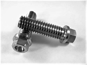 "Header Bolt w/Small Hex Flange 3/8""-16 x 1 1/4"""