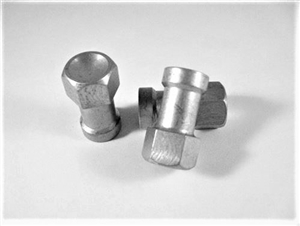 "Aluminum 5/16""-18 Torque Ball Housing Nut"