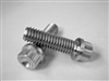 "3/8-16 x 1-1/4"" 12pt Fully Threaded Ultra-Light Hex-Flange Bolt"
