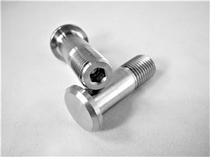 "Button Head Stud, 3/8""-24 x 1.125"