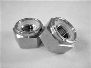 M12-1.25 Hex Nylon Insert Lock Nut
