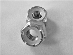 "5/16""-18 Hex Nylon Insert Lock Nut"