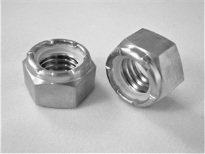"7/16""-14 Hex Nylon Insert Lock Nut"