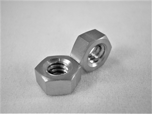 #10-24 UNC Coarse Thread Ti Hex Nut