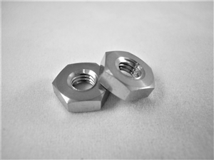 #10-32 UNF Fine Thread Ti Hex Nut