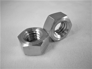 "5/16""-18 UNC Coarse Thread Ti Hex Nut"
