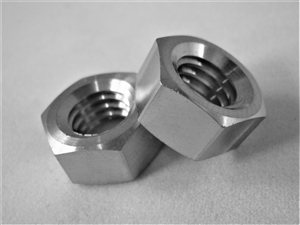 "3/8""-16 UNC Coarse Thread Ti Hex Nut"