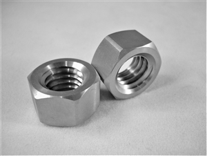 "7/16""-14 UNC Coarse Thread Ti Hex Nut"