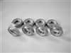 "1/2""-20 Hex Nylon Insert Lock Nut, Half Height (8 Pack)"