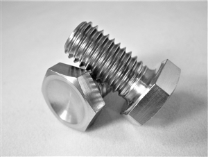 M8-1.25 x 15mm Hex Head Bolt