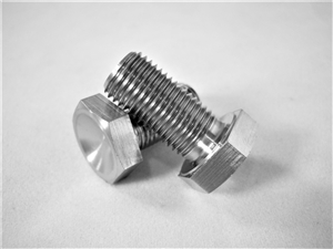 "3/8""-24 x 3/4"" Hex Head Bolt"