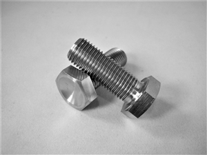 "3/8""-24 x 1"" Hex Head Bolt"
