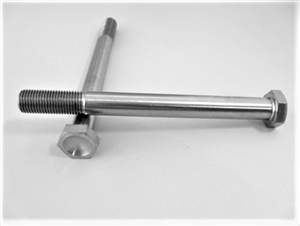 "3/8""-24 x 4"" Hex Head Bolt"