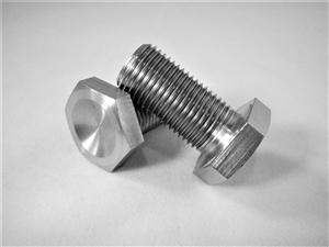 "1/2""-20 x 1"" Hex Head Bolt, Fully Threaded"