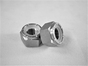 "5/16""-24 Hex Nylon Insert Lock Nut"