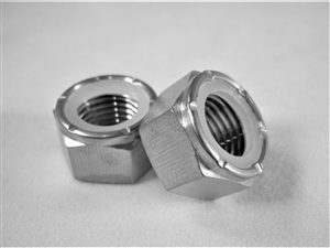 "7/16""-20 Hex Nylon Insert Lock Nut"