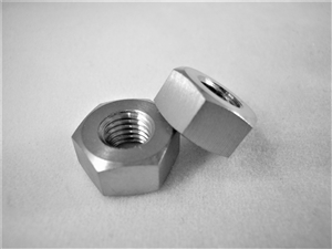 "1/4""-28 UNF Fine Thread Ti Hex Nut"