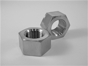 "5/8""-18 UNF Fine Thread Ti Hex Nut"