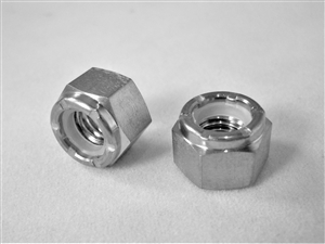 M6-1.0 Hex Nylon Insert Lock Nut