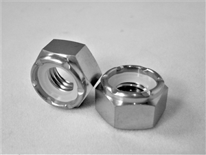 M8-1.25 Hex Nylon Insert Lock Nut