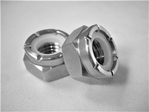 M10-1.5 Hex Nylon Insert Lock Nut
