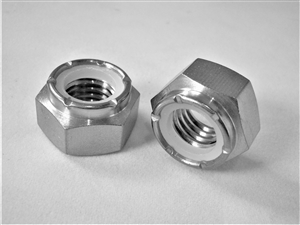 M12-1.75 Hex Nylon Insert Lock Nut