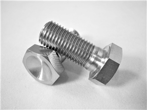 "3/8""-24 x 7/8"" Hex Head Bolt"