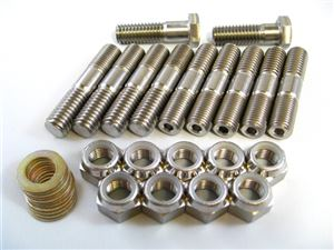 Side Cover Kit with Nylon Insert Lock Nuts