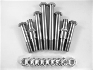 "Maxim Shock Bolt Kit, 3.125"" Lower Front Spud"