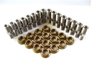 Header Stud Kit - Broached Big Block (16 Studs)