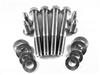 Mustang (79-04 ) Front Suspension K-Member Bolt Kit, All Titanium