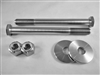 Mustang (79-04) Steering Rack Bolt Kit, All Titanium